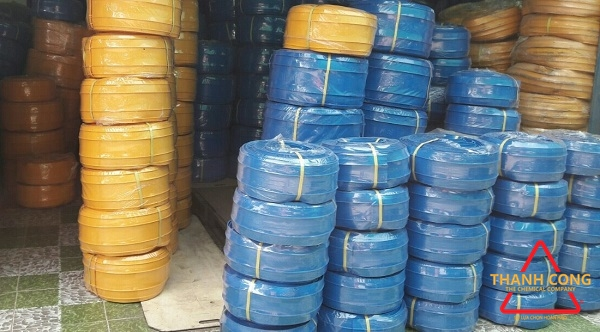 BĂNG CẢN NƯỚC PVC WATERSTOP V200 MÀU XANH VÀ MÀU VÀNG TẠI HCM